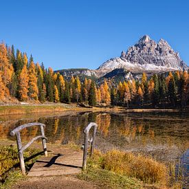 Lago Antorno in den Dolomiten, Italien von Adelheid Smitt
