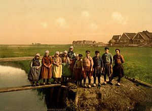 Weeskinderen in de polder von