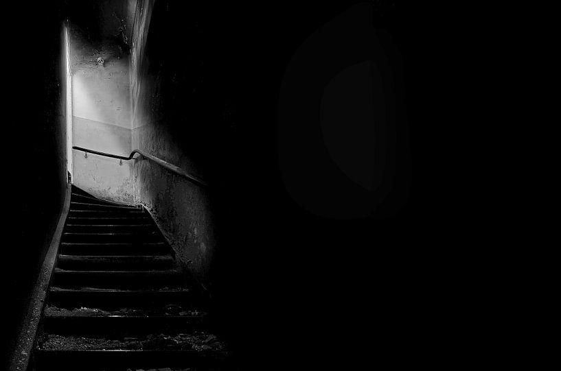Treppe nach oben von Frank Herrmann