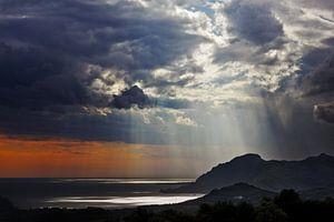 Slecht weer op Kreta van Hans van den Beukel