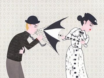 Mary Poppins und der niesende Herr von Karolina Grenczyk