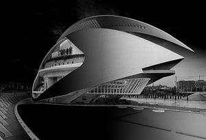 Calatrava's Opera huis in Valencia