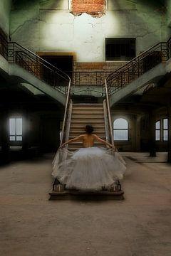Stairway to Heaven (nude / naakt) von Kees de Knegt