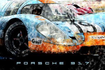 Porsche 917 Front von Theodor Decker