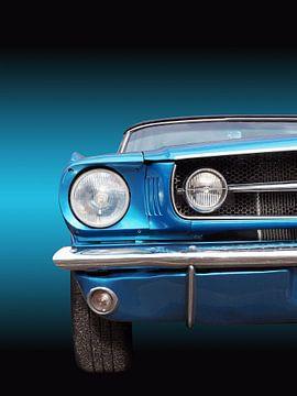 Amerikaanse klassieke auto Mustang 1965 cabriolet