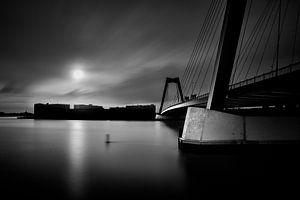 Rotterdam, Bridge to the island von 010 Raw