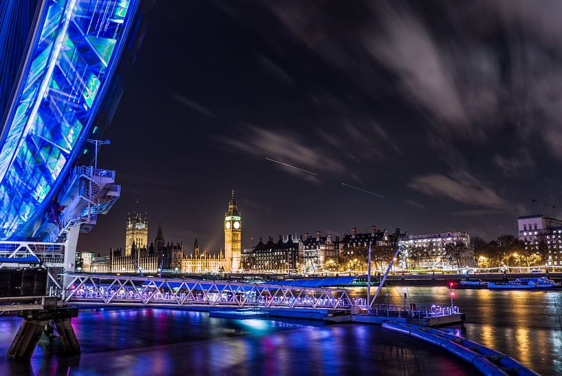 The London Eye and Ben van Richard Dijkstra