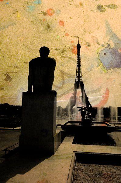 Jardins du Trocadéro van Martine Affre Eisenlohr