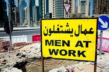 Men at work van