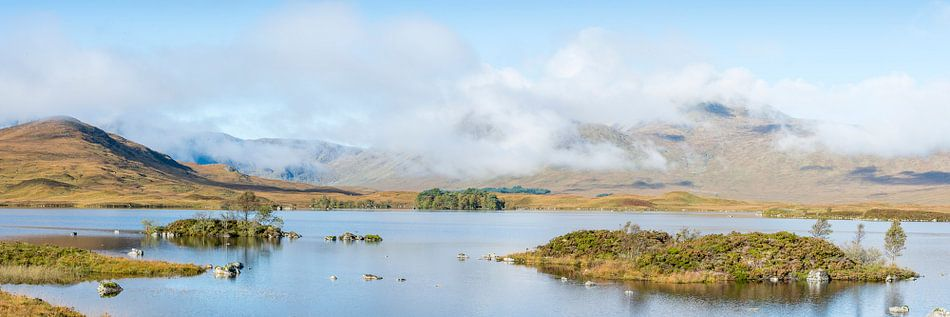 meren bij Glencoe in Schotland