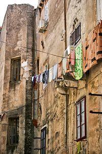 Straat in Kroatie