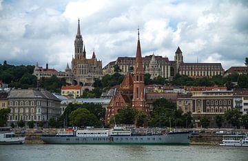 Tschechische Hauptstadt Prag an der Moldau von Ruurd van der Meulen