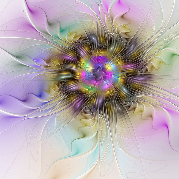 Florale Abstraktion von gabiw Art