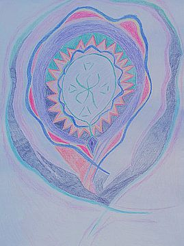 Happy Spirit van Parallel Dream Art