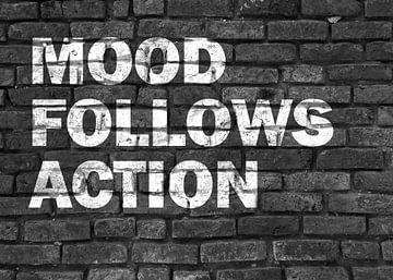 Inspirations Spruch Mood follows Action von KalliDesignShop