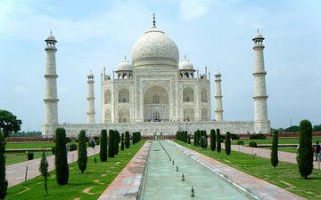 Taj Mahal - India van Gerrit  De Vries