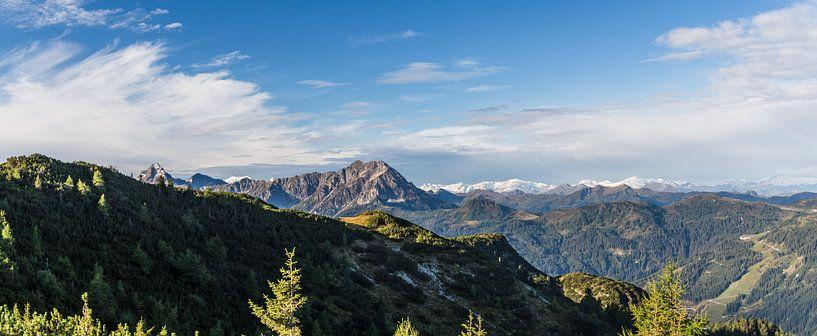 """Panorama """"Bergen in de herfst"""" van Coen Weesjes"""