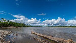 De Pastaza rivier Ecuador