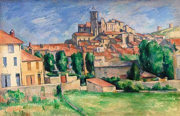 Cézanne, Gardanne (ca. 1885) von Atelier Liesjes