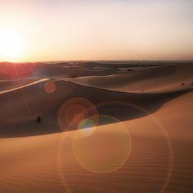 Desert sunset sur Reinier Snijders