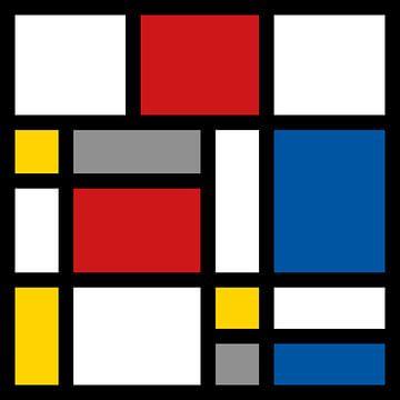 Mondriaan 4x4 sur Harry Hadders