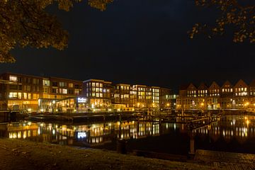 Stadshaven van Appingedam van Arline Photography