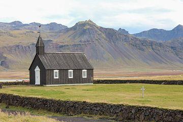 Kirche in Island von Map of Joy