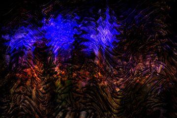 Concept abstract : Paarse emotie van Michael Nägele