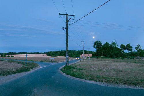 In between the power lines