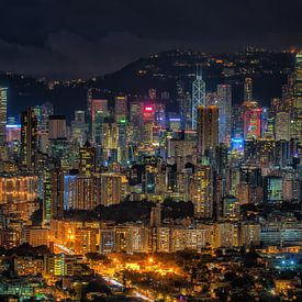 Hongkong von Photo Wall Decoration