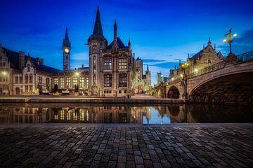 Prachtige reflecties in Gent van Roy Poots