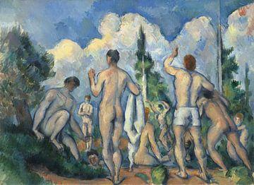 Paul Cézanne. Baadsters van 1000 Schilderijen