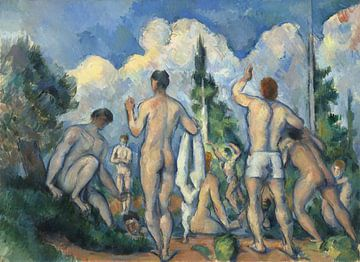 Paul Cézanne. Baadsters