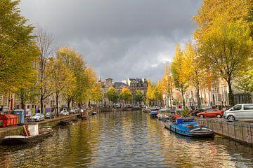 Herfst in Amsterdam van Jan Kranendonk