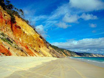 Rainbow Beach, Queensland, Australien von Rietje Bulthuis