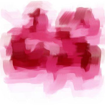 Abstrakte Pinselstriche II von Maurice Dawson