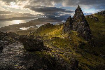 Alter Mann von Storr Scotland von Tim Kreike