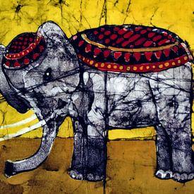 Sur la piste du cirque - L'éléphant de cirque sur Christine Nöhmeier