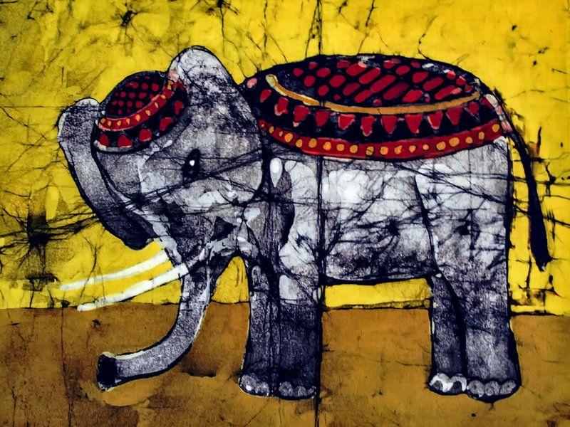 In der Manege - Der Zirkuselefant von Christine Nöhmeier