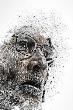 Portrait alter Mann von Peter Roder
