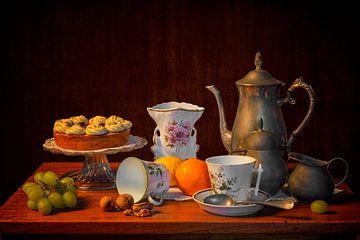 Stilleven: Een kopje koffie van Carola Schellekens