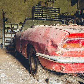 verlassenes Fiat von Kristof Ven