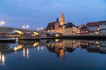 Regensburg von Peter Schickert