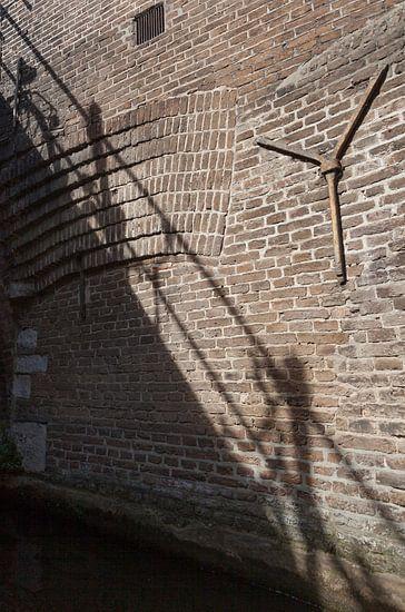 Schaduw op de muur