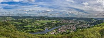 Panorama Saarburg von Patrick Herzberg