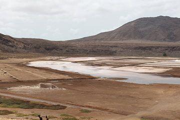 Salinas de Pedra de Lume - Sal, Kaapverdië van Audrey Nijhof