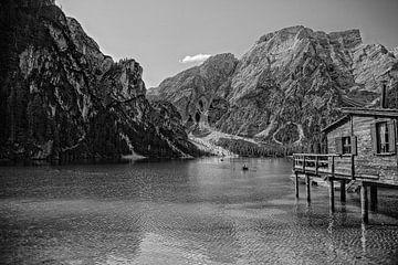 Lago di Braies van Imca van de Weem