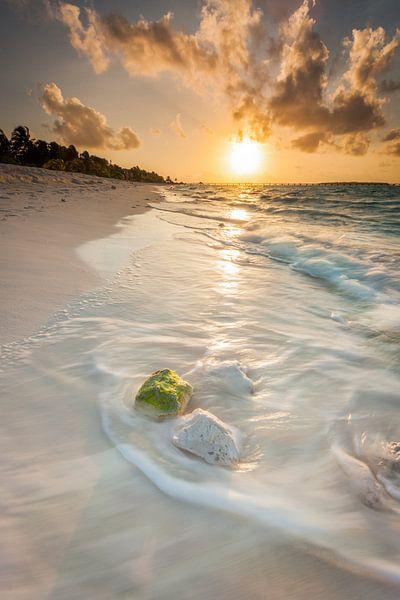Sonnenuntergang Malediven van Markus Busch