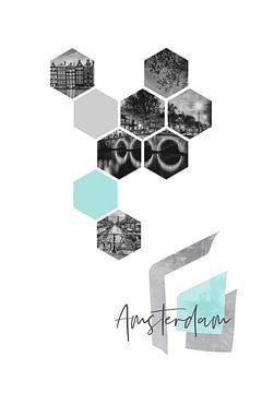Urban Design AMSTERDAM von Melanie Viola