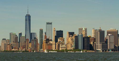 New York: Panorama Manhattan skyline van
